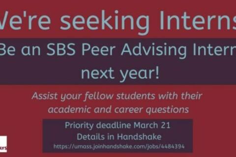 Peer advising advertisement