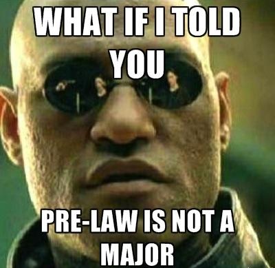 Pre-Law: Choosing a Major